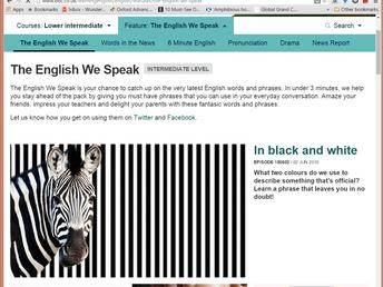 Cập nhật giao diện mới của BBC Learning English