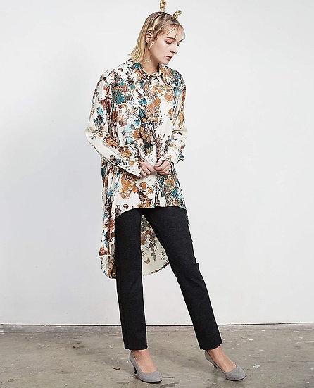 Chemise longue à motif lituanien
