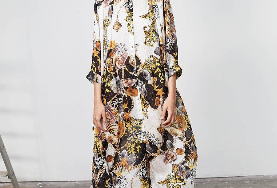 Robe chemise vintage