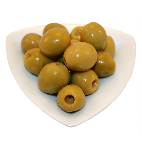 STTUFED MANZANILLA OLIVE WITH ANCHOVIES (25% low salt)(12 CANS BOX)