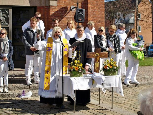 Påskelørdagens gospelgudstjeneste