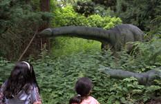 Dinosaurskoven i Knutheborg Safaripark
