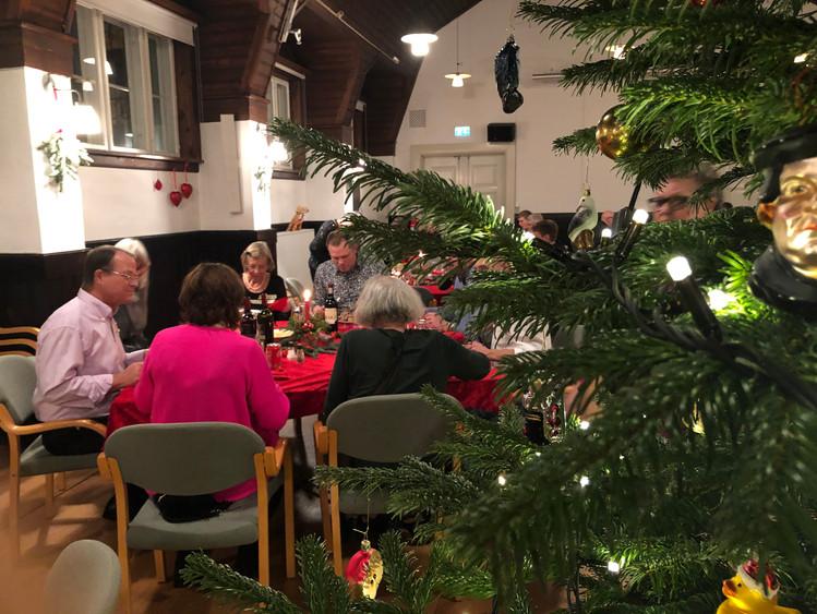 Juleaften i sognegården 24.12.2019