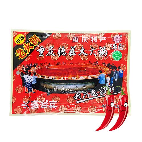 Medium Spicy Dezhuang Hot Pot Soup Base Seasoning