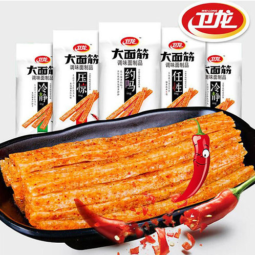 Spicy Snack Latiao Gluten Spicy Strip 106g*5