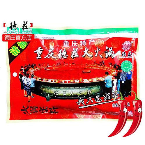 Dezhuang Medium-hot Clear-Oil Hot Pot Seasoning 300g