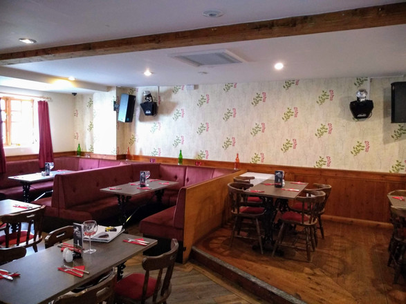 1. Before main dining area