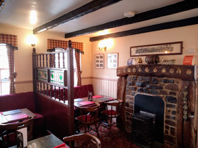 3. Before main bar eating area