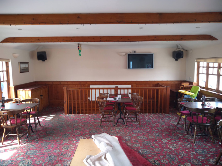 2. Before Upstairs dining area