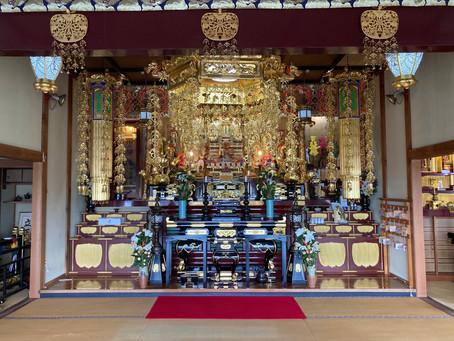 New 今月より『お寺ヨガ』開講いたします!