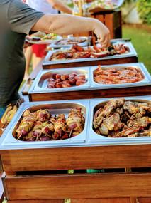 Small buffet.