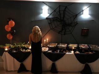 Hallowen buffet.