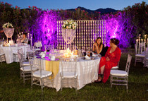 Night light for weddings