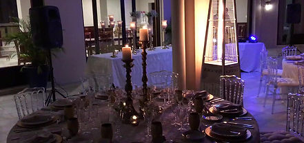 King Catering Marbella Party set up