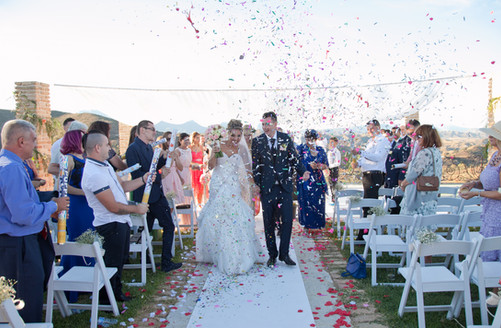 Wedding confeti