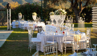 Wedding set up King Catering Marbella.