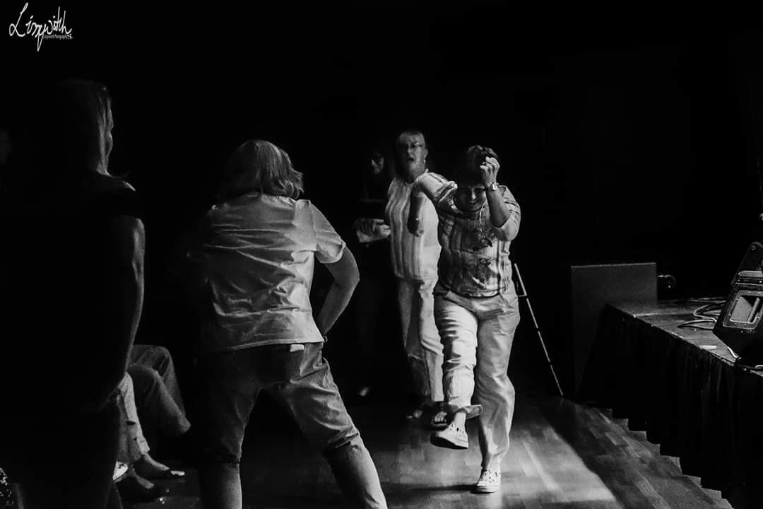 Beatles tribute on stage