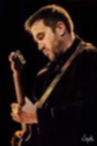 John Brunsdon of John Lennon Tribute UK playing that guitar