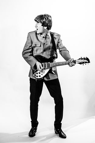 John Lennon Tributes Gaz Keenan in Shea Stadium outfit.