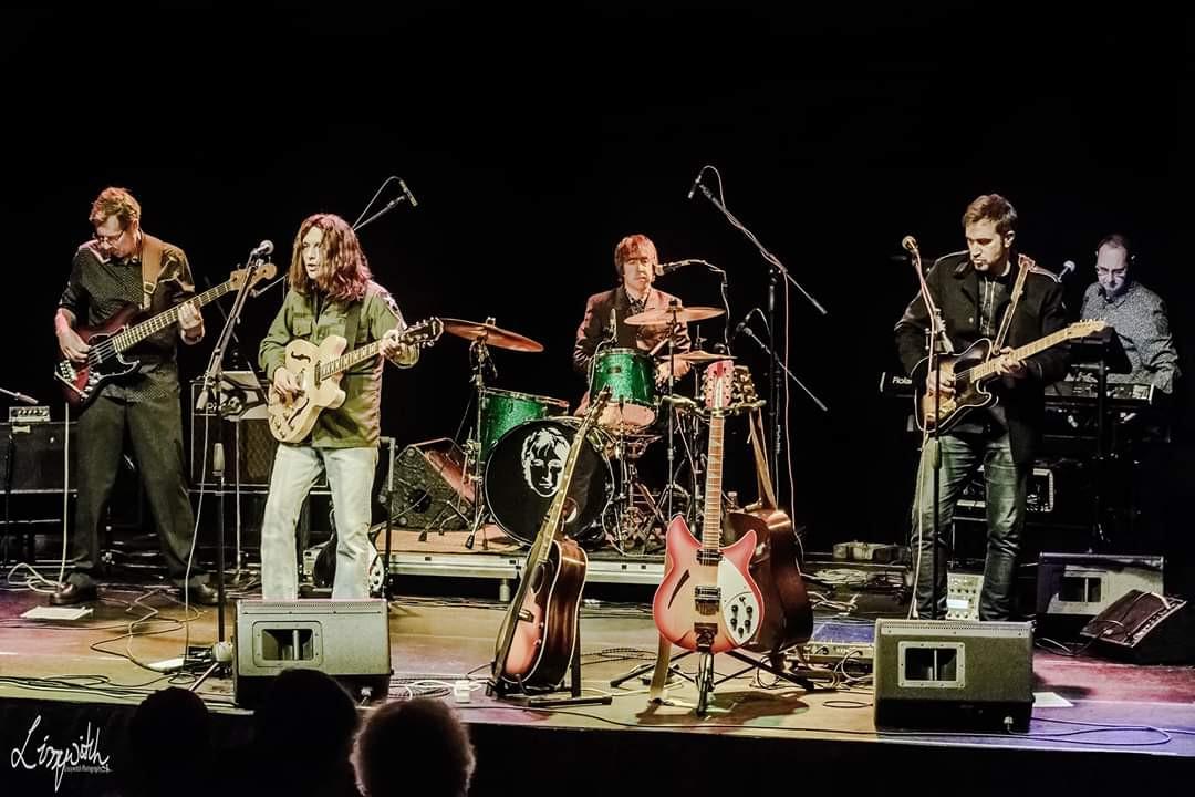 Lennon Tribute UK - the whole band