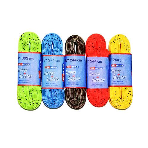 Хоккейные шнурки цветные