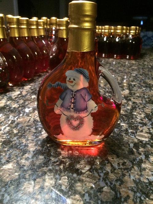 Snowman Bottle amber rich 250ml/8.4 ounce