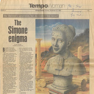 """The Simone Enigma"""
