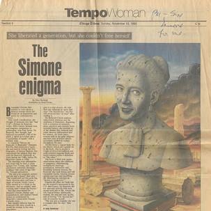 """""""The Simone Enigma"""""""