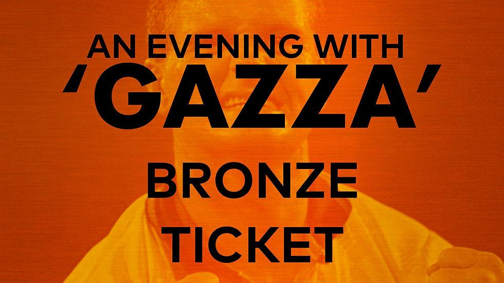 An Evening With 'Gazza': Bronze Ticket