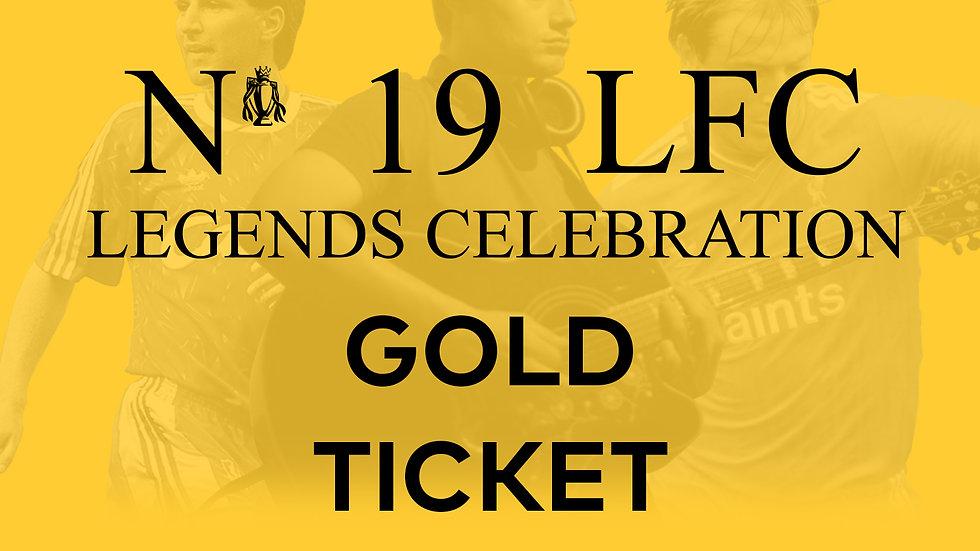 No 19 LFC Legends Celebration GOLD