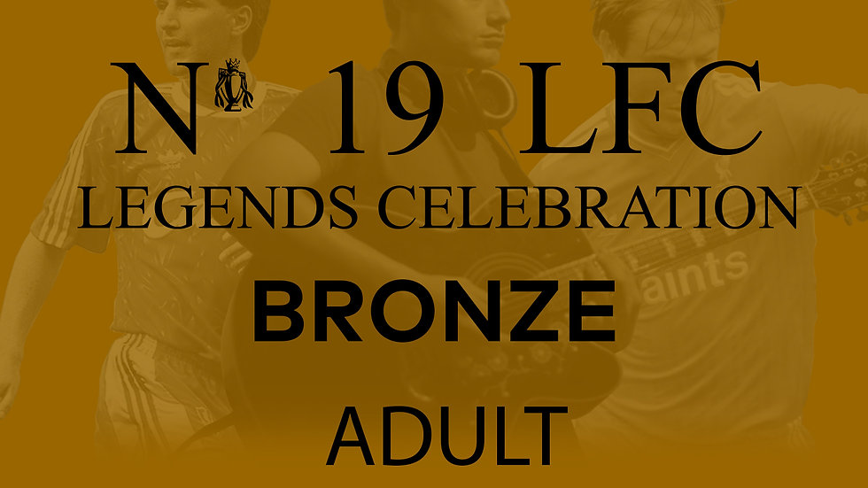 No 19 LFC Legends Celebration BRONZE ADULT