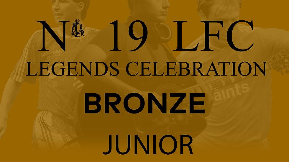 No 19 LFC Legends Celebration BRONZE JUNIOR
