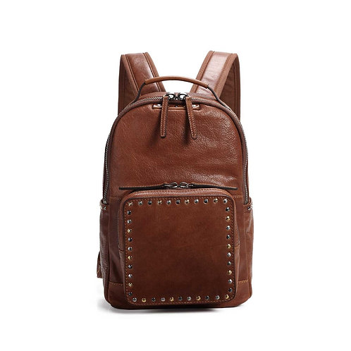 Soul Stud Leather Backpack