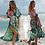 Thumbnail: 2020 Bohemian Printed Half Sleeve Long Kimono