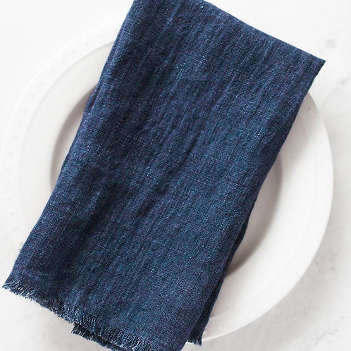 Stone Washed Linen Dinner Napkin
