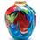 Thumbnail: Floral Fantasia Art Glass Vase