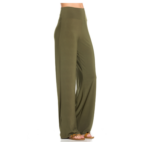 Extra Comfy Cute Pants -Olive