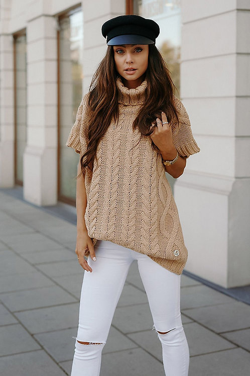 Oversized Short sleeve sweater
