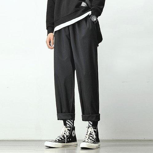Men's Joggers Harem Pants Black