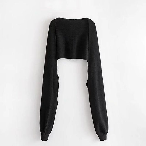 Nayth Sleeve Scarf - Black