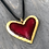 Thumbnail: Red Heart Necklace