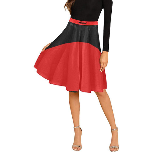 Women's Wakerlook Pleated Midi Skirt
