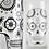 Thumbnail: Sugar Skull Glassware - Set of 2 Halloween Glasses