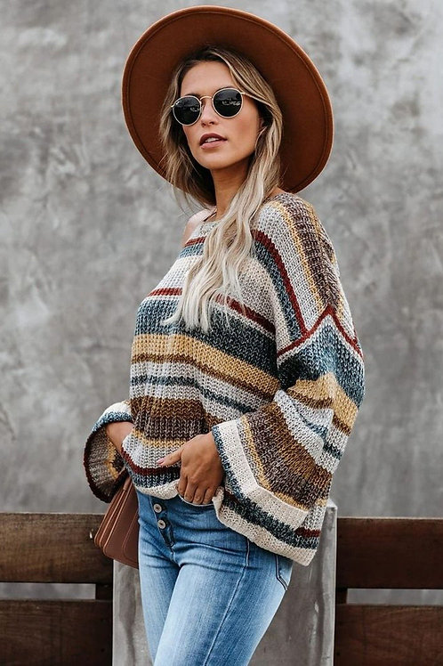 Dropped Shoulder Relaxed Sweater