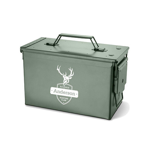 Metal Ammo Box - Personalized