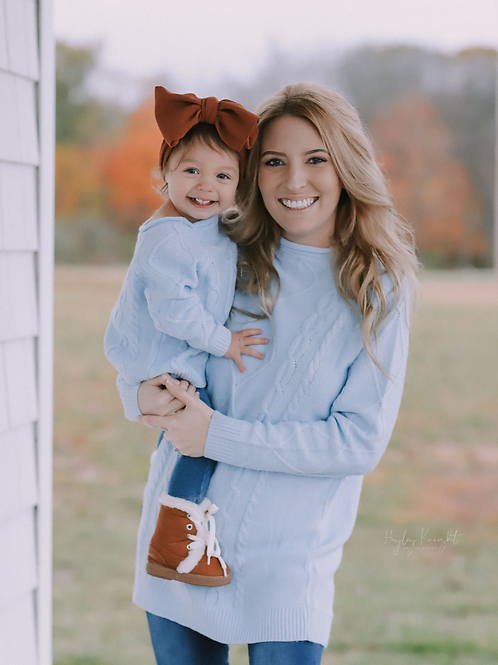 Elizabeth Mommy & Me Cable Knit Sweater