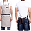 Thumbnail: Unisex Work Apron Canvas Black - Adjustable