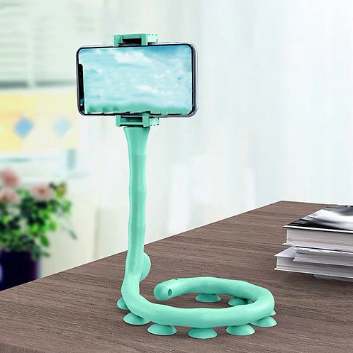 Flexible Mobile Phone Holder with Suction Cups
