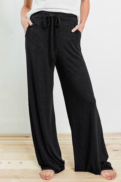 Wide Leg Drawstring Lounge Pant