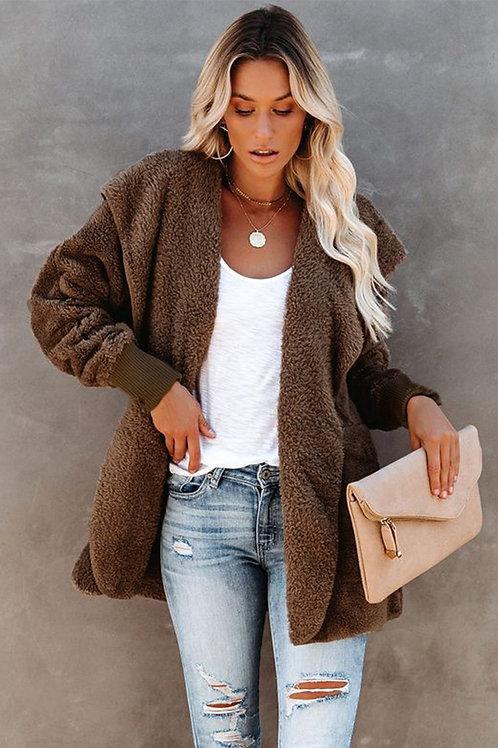 Super Soft Fleece Hooded Jacket